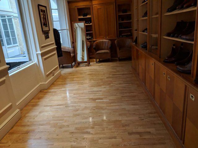 Mens Wardrobe Floor Sanding London