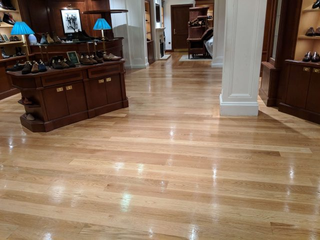 Floor Sanding Services sanded and polished this floor