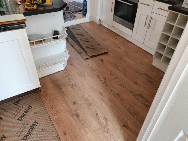 part finished laminate floor