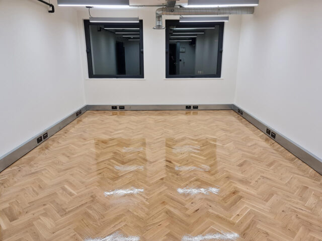 Commercial floor sanding and refinishing Central London