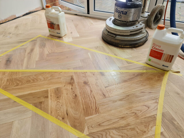 Domestic floor sanding and refinishing in sheerness Kent